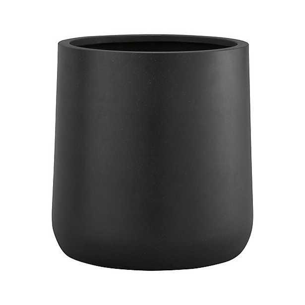 "Saabira Fiberstone 15.5"" Tall Planter - Crate and Barrel"