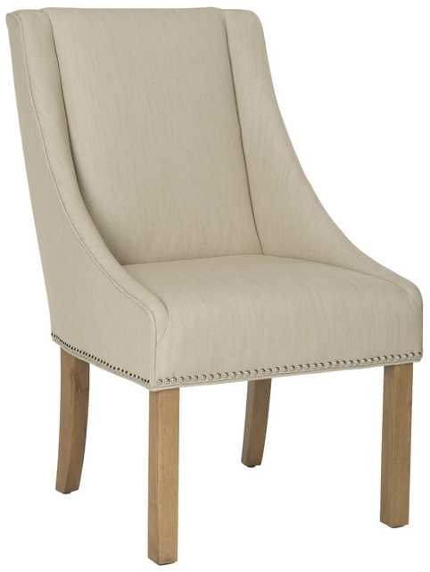 MORRIS SLOPING ARM DINING CHAIR - SET OF 2 - Arlo Home