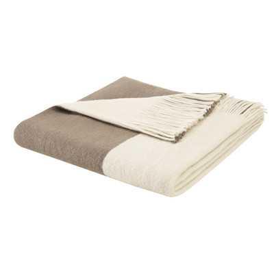 Stockholm Throw Blanket - Taupe - Wayfair
