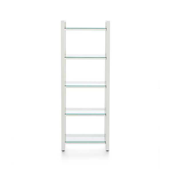 Pilsen Salt Bookcase - Crate and Barrel