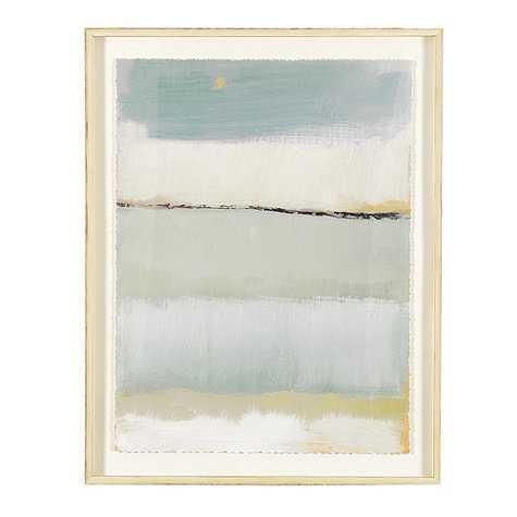 Cote De La Mer Print I - Framed - With Mat - Ballard Designs