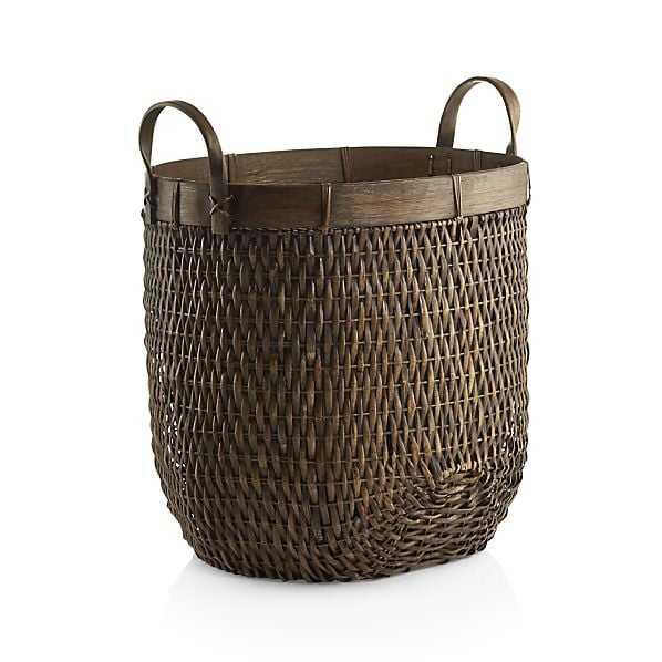 Halton Large Basket - Crate and Barrel
