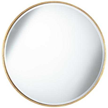 Uttermost Junia Round Wall Mirror - Lamps Plus