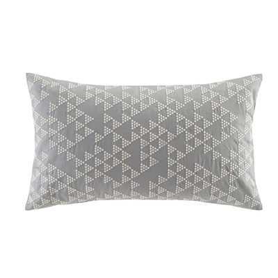 Thea Embroidered Cotton Lumbar Pillow - With Insert - Wayfair