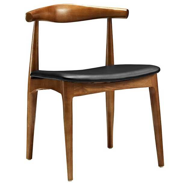 TRACY DINING SIDE CHAIR IN BLACK - Modway Furniture