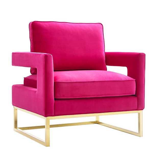 Aubrey Jane Velvet Chair - Maren Home