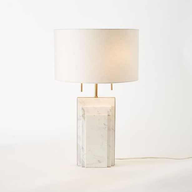 Deco Marble Lamp - West Elm