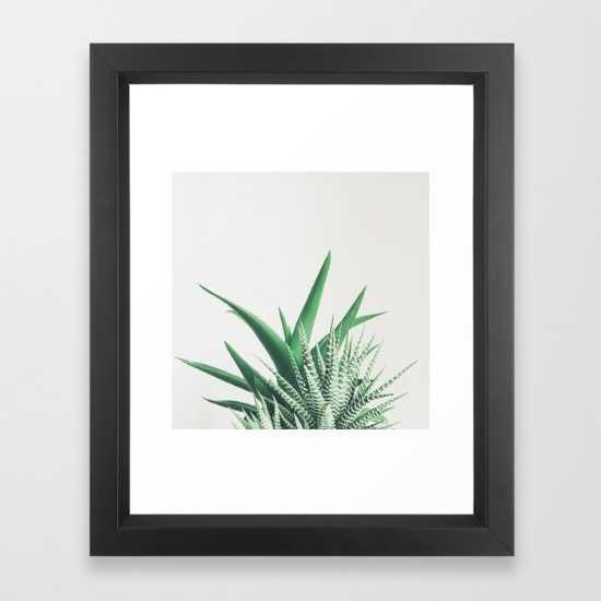 """Overlap FRAMED ART PRINT VECTOR BLACK MINI Frame 14""""x17"""" Print 10"""" x 12"""" - Society6"""