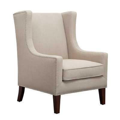 Barton Wing Chair - Linen - Wayfair