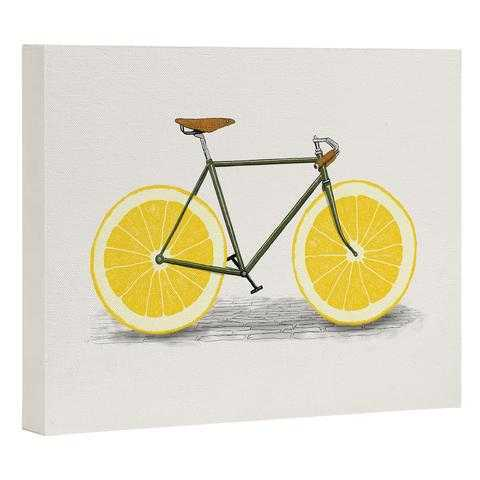 ZEST I Art Canvas- 16x20- Unframed - Wander Print Co.