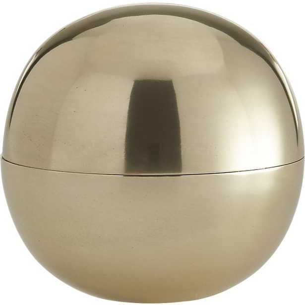 dome large gold storage - CB2
