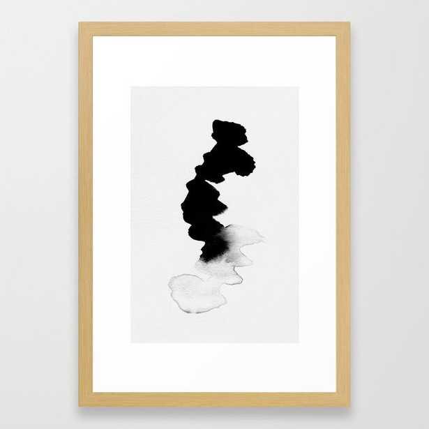 FRAMED ART PRINT natural frame-15x21 - Society6