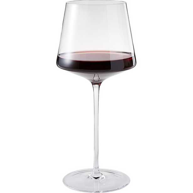 muse red wine glass - CB2