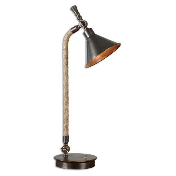 Duvall Task Lamp, Bronze - Hudsonhill Foundry