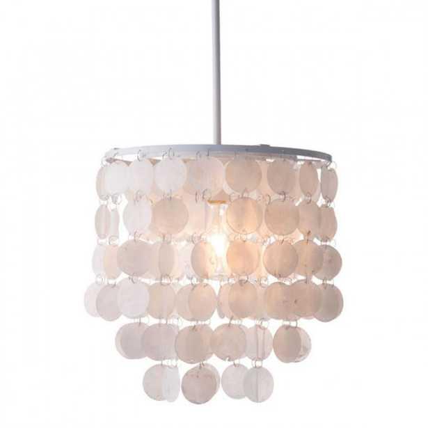 Shell Ceiling Lamp White - Zuri Studios