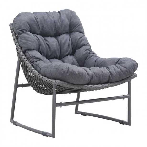 Ingonish Beach Chair Gray - Zuri Studios