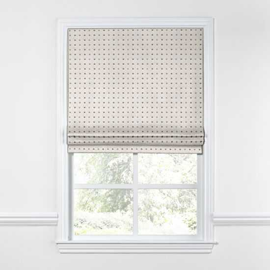 """Stud Muffin - Oatmeal , 34"""" by 82"""" Outside Mount - Loom Decor"""