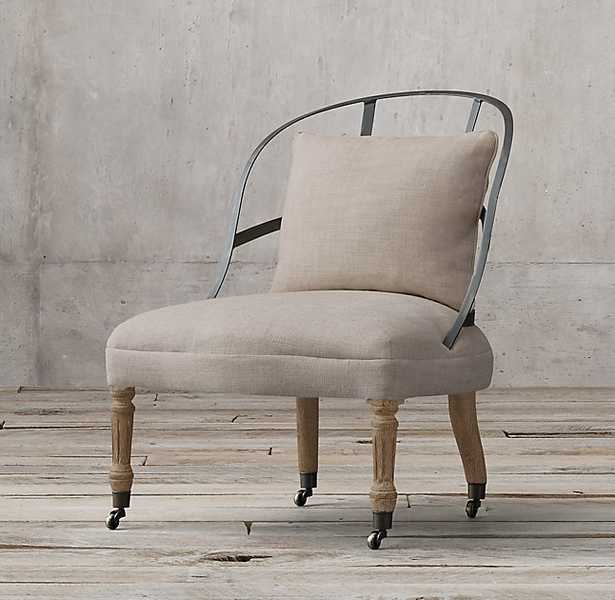 COUTURIER'S CHAIR - Sand - RH