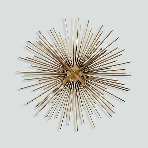 Selena Sunburst Clock - Ballard Designs