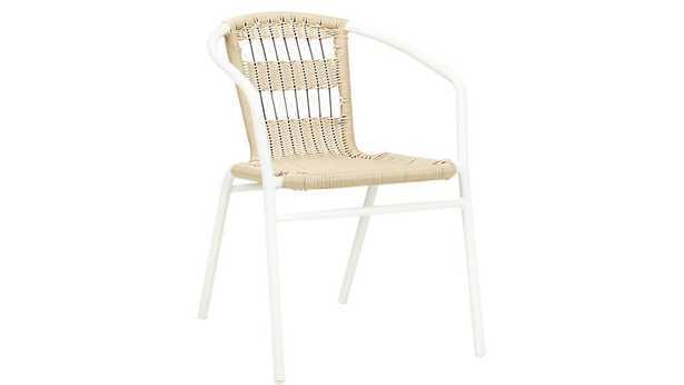 Rex open weave chair - CB2