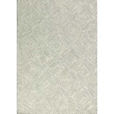 Sam Hand-Tufted Ivory/Grey Area Rug - Wayfair