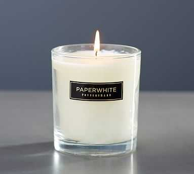 Signature Homescent Candlepot - Paper White - Pottery Barn