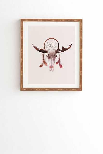 DEADLY DESERT Framed Wall Art By Robert Farkas - Wander Print Co.