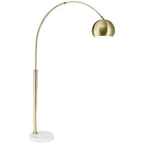 Basque Arc Floor Lamp gold - Lamps Plus