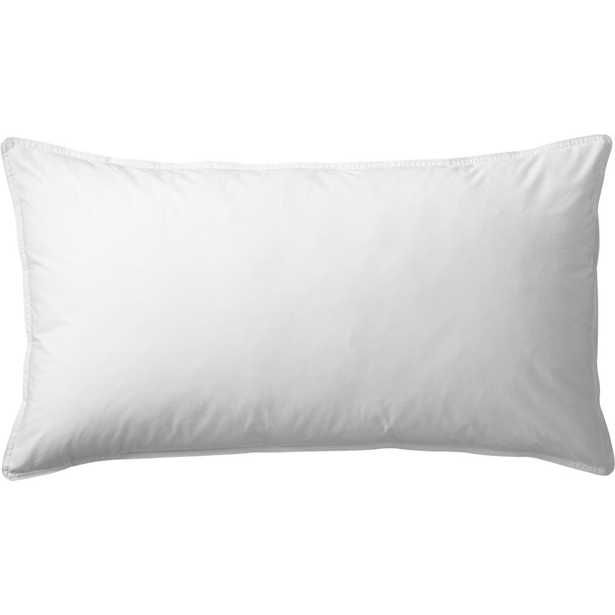feather-down king pillow insert - CB2