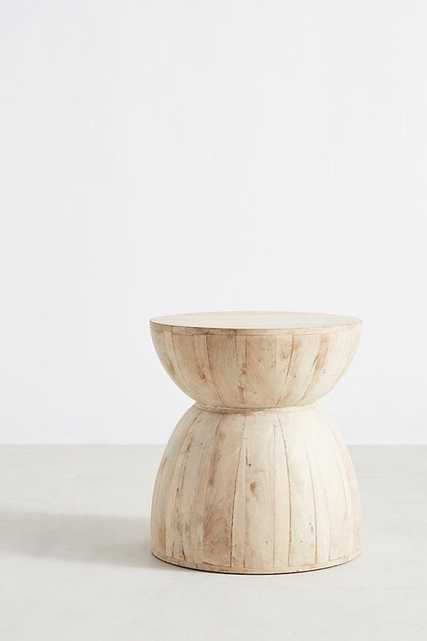 Betania Side Table, Hourglass - Anthropologie