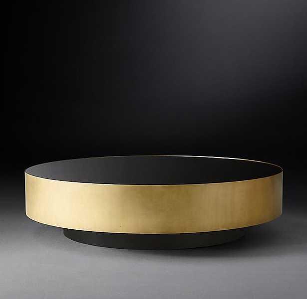 MOORE ROUND COFFEE TABLE - RH Modern