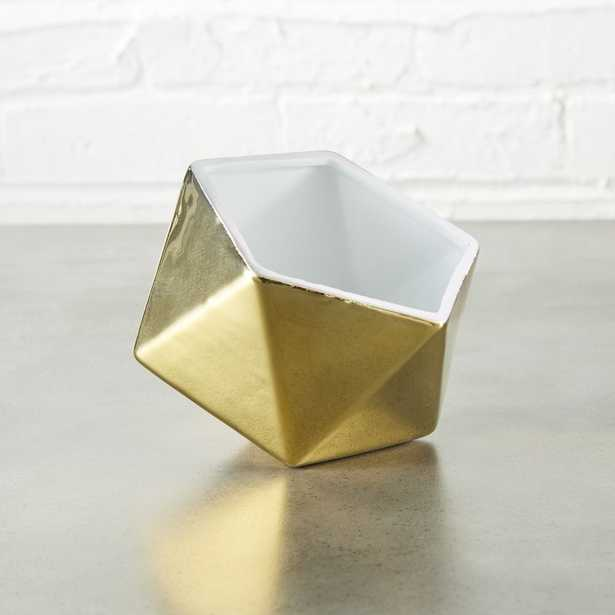 clarity gold bowl - CB2