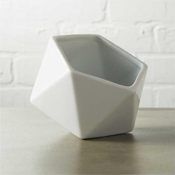 clarity white bowl - CB2