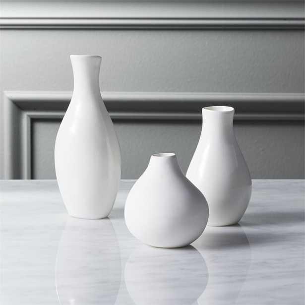 3-piece trio vase set - CB2