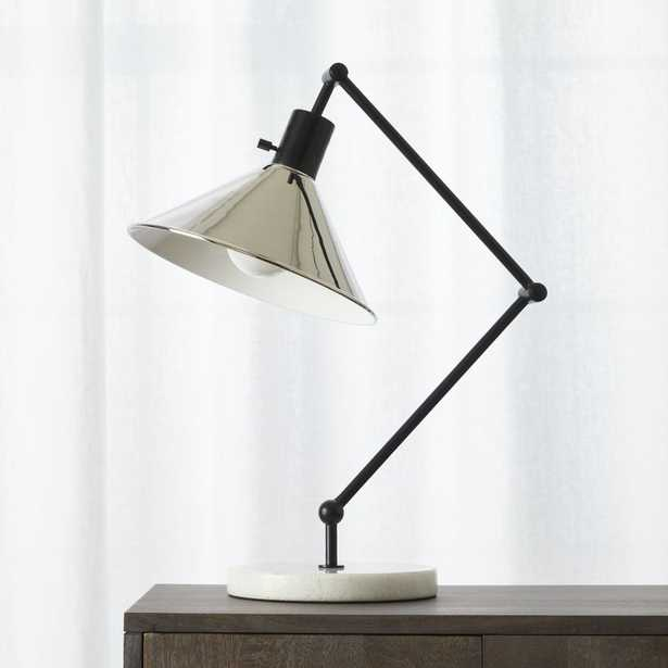 gris table lamp - CB2