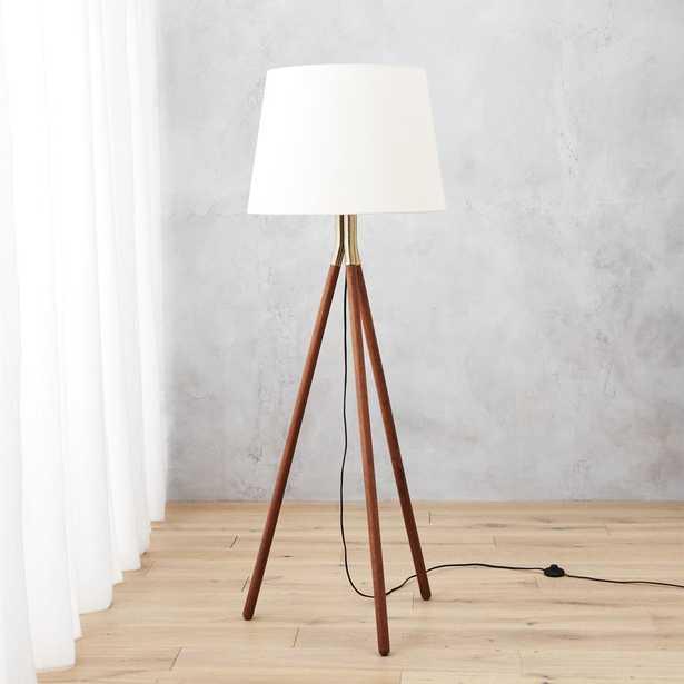 tres floor lamp - CB2