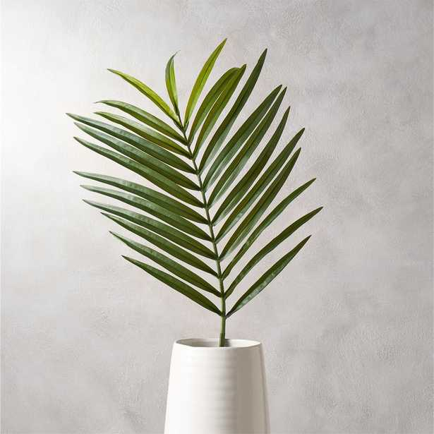 faux phoenix palm leaf - CB2