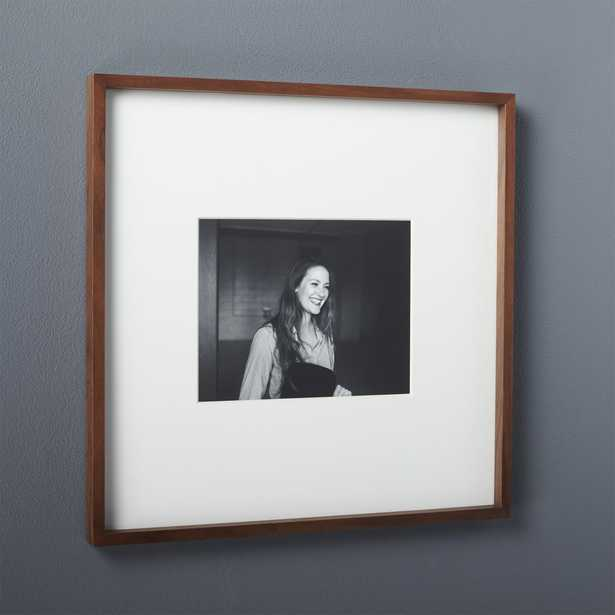 gallery walnut 8x10 picture frame - CB2