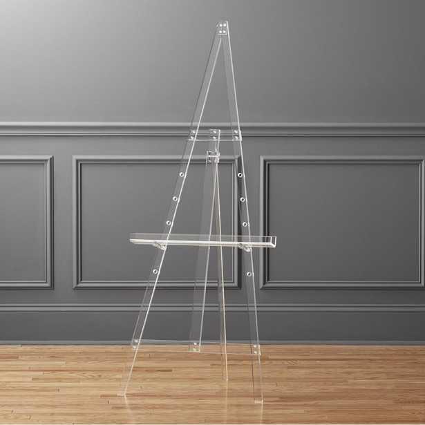 acrylic tripod easel - CB2