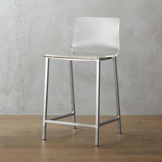 """""""vapor 24"""""""" acrylic counter stool"""" - CB2"""