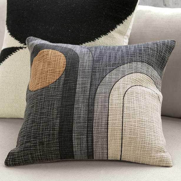 "18"" dream pillow with down-alternative insert - CB2"