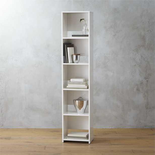 getaway narrow bookcase - CB2