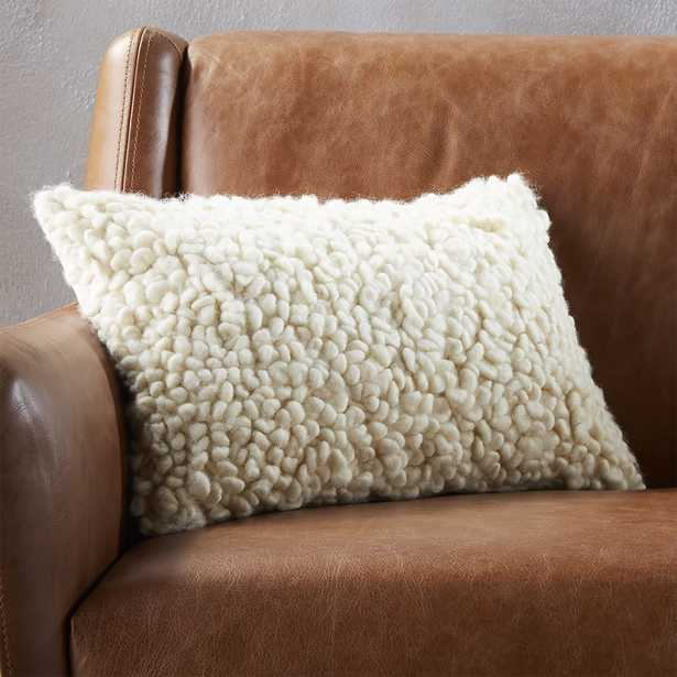 """""""18""""""""x12"""""""" toodle pillow with down-alternative insert"""" - CB2"""