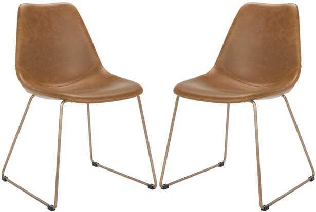 Dorian Midcentury Modern Dining Chair - Set of 2 - Arlo Home