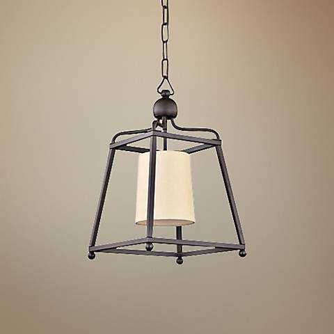 "Crystorama Sylvan 11 1/2""W Bronze Mini Pendant Light - Lamps Plus"