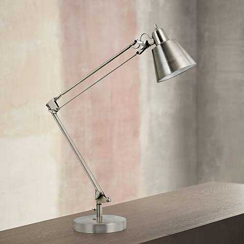 Udbina Adjustable Architects Desk Lamp - Lamps Plus