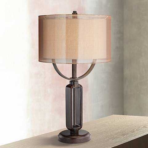 Franklin Iron Works Monroe Industrial Table Lamp - Lamps Plus