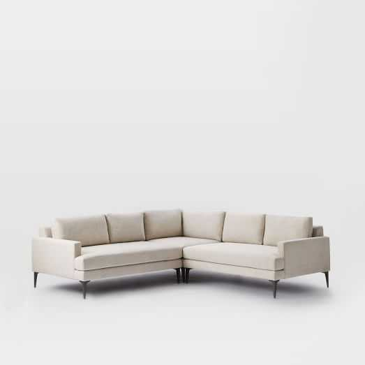 Andes L-Shaped Sectional - West Elm