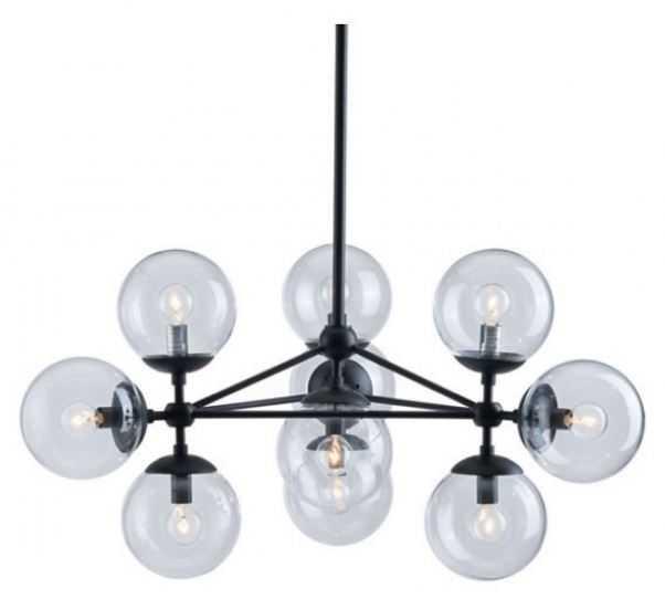 Belfast Ceiling Lamp Black - Zuri Studios