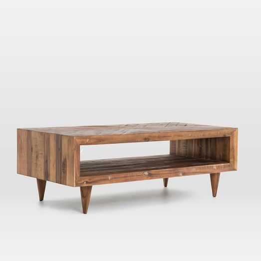 Alexa Reclaimed Wood Coffee Table - West Elm